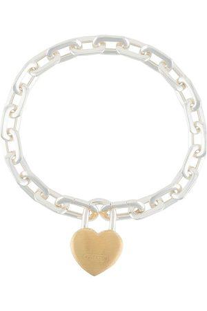 AMBUSH Heart padlock chain bracelet