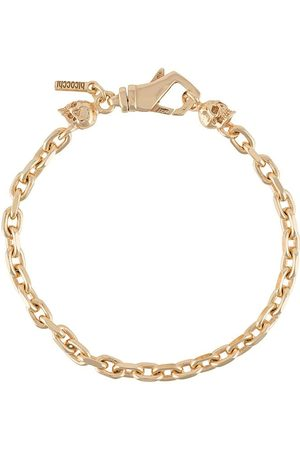 EMANUELE BICOCCHI Skull chain-link bracelet