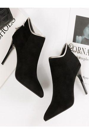 YOINS Fashion Suede Martin Boots