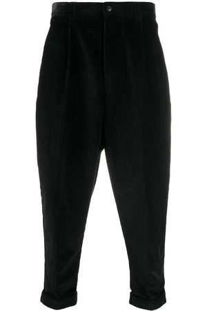 Ami Oversized tapered cropped trousers