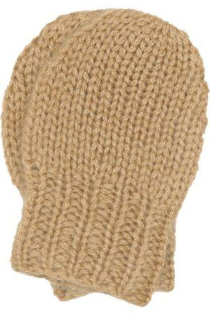 Caramel Baby Corncrake cashmere mittens