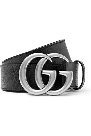 Gucci Men Belts - 4cm Full-Grain Leather Belt