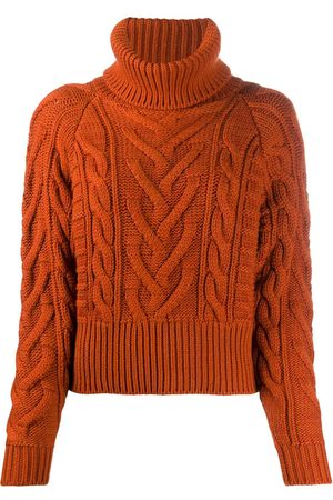 Dolce & Gabbana Cable-knit rollneck jumper