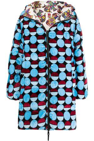 La DoubleJ Reversible cocoon puffer coat