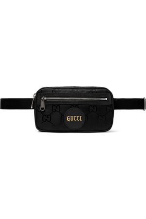 Gucci Men Belts - Off the Grid Leather-Trimmed Monogrammed ECONYL Canvas Belt Bag