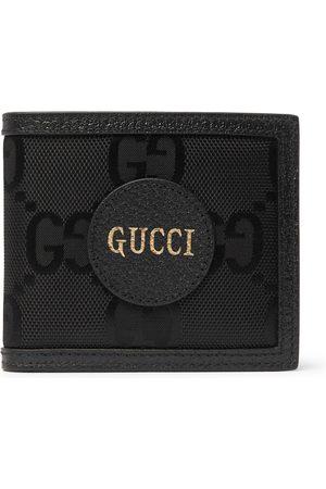 Gucci Men Wallets - Off the Grid Leather-Trimmed Monogrammed ECONYL Canvas Billfold Wallet