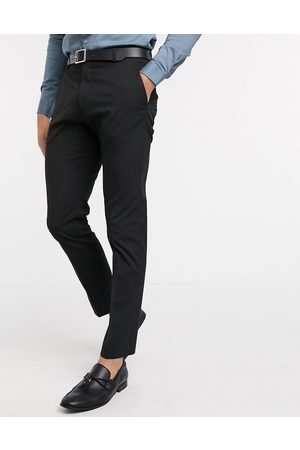 Selected Men Skinny Pants - Suit trouser with stretch in slim fit