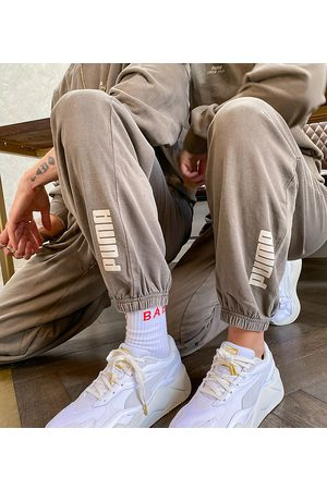 PUMA Oversized joggers in washed - exclusive to ASOS