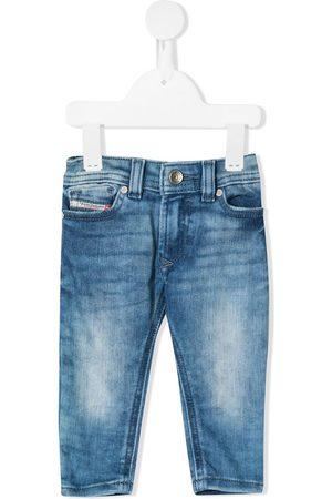 Diesel Sleenker-B faded sim-fit jeans