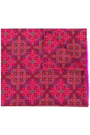 Yves Saint Laurent Women Scarves - Abstract print scarf