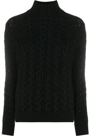 GENTRYPORTOFINO Cable-knit cashmere jumper