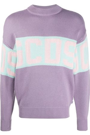 GCDS Logo knit high neck jumper