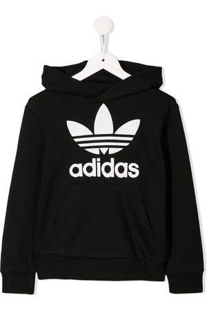 adidas Logo printed hoodie