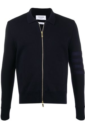 Thom Browne Merino wool zip-up cardigan