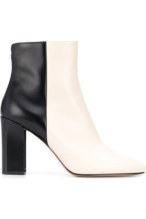 Nicholas Kirkwood Elements 85mm two-tone ankle boots