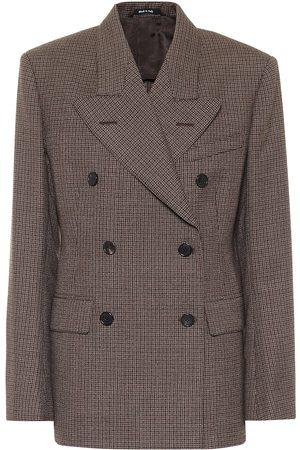 Maison Margiela Checked wool blazer