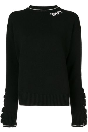 BAPY BY *A BATHING APE® Embroidered logo ruffled-sleeves jumper