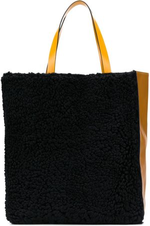 Marni Museo two-tone tote bag