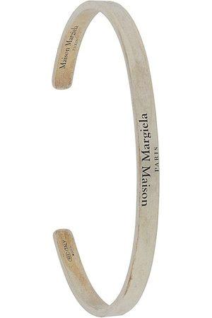 Maison Margiela Engraved-logo slip-on bracelet