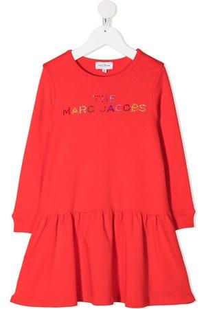 The Marc Jacobs Kids Logo print dress