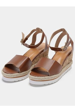YOINS Fish Mouth Wedge Sandals