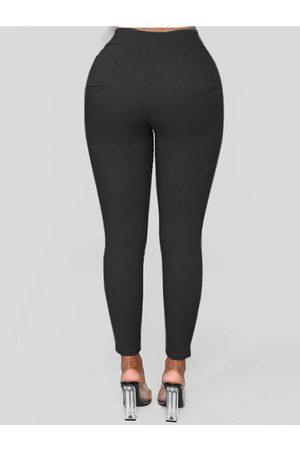 YOINS Casual High Waisted Bodycon Pants