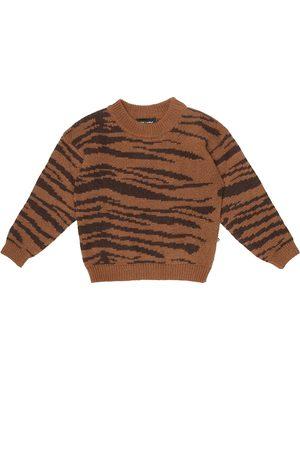 Mini Rodini Tiger wool and cotton sweater