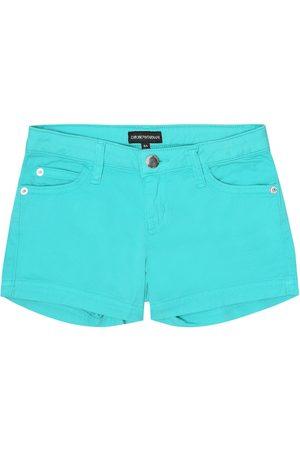 Emporio Armani Cotton twill shorts
