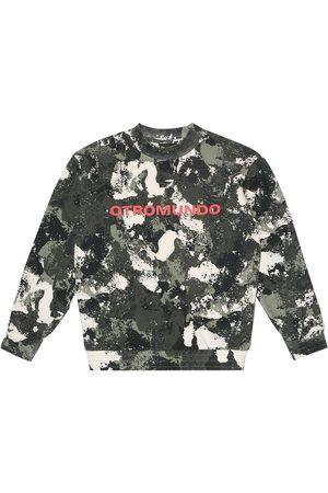Marcelo Burlon Kids of Milan Camouflage cotton-blend sweatshirt