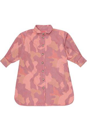 MORLEY Moon cotton-blend shirt dress