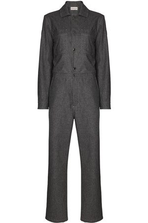 Moncler Long sleeve wool boilersuit