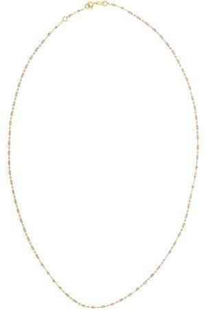 GIGI CLOZEAU 18kt yellow Classic Gigi rosée beaded necklace