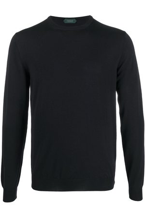 ZANONE Fine-knit crew neck jumper