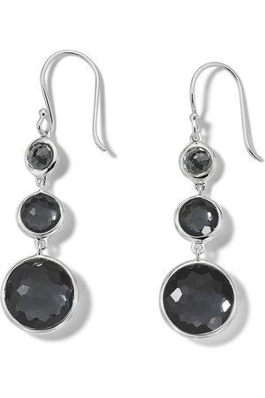 Ippolita 3-stone drop earrings