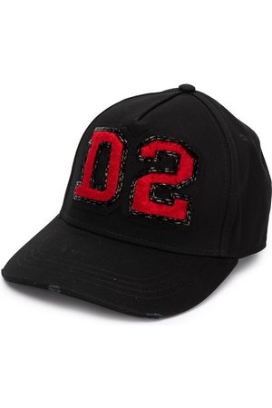 Dsquared2 D2 logo patch cap