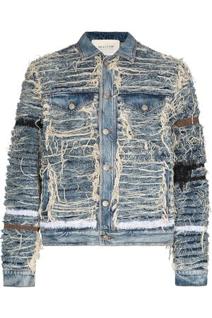1017 ALYX 9SM X Blackmeans shredded denim jacket