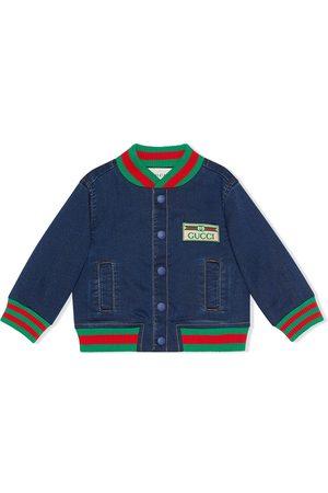 Gucci Baby jersey denim jacket