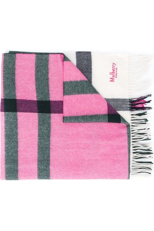 Mulberry Oversized check long scarf