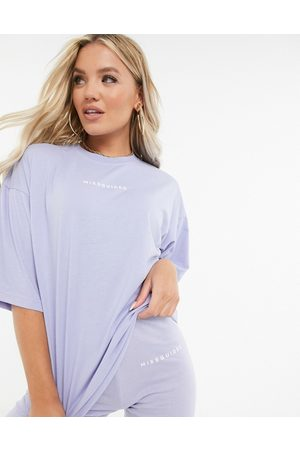 Missguided T-shirt and short legging set in