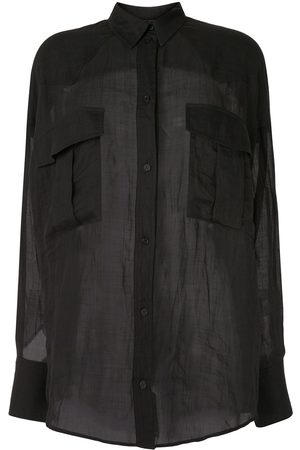 Karen Walker Semi-sheer shirt