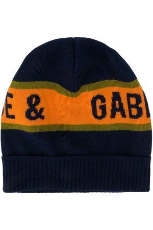 Dolce & Gabbana Intarsia-logo beanie hat
