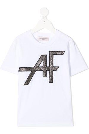 Alberta Ferretti AF-embroidered T-shirt
