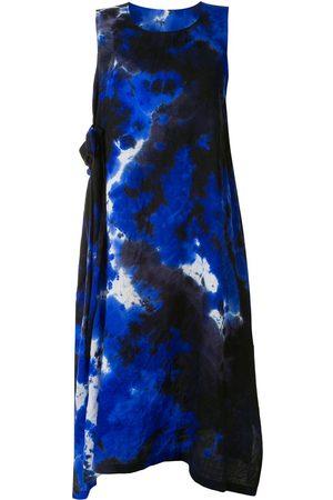 Y'S Sleeveless tie-dye dress