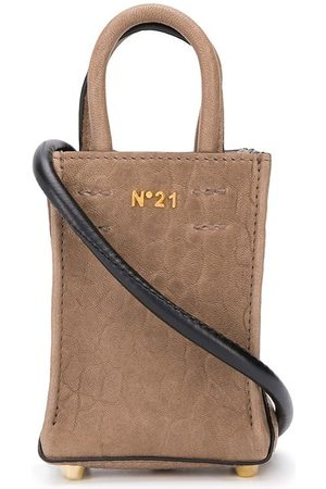 Nº21 Mini leather shopper bag