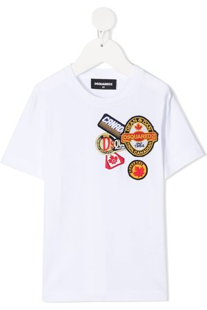 Dsquared2 Logo patches T-shirt