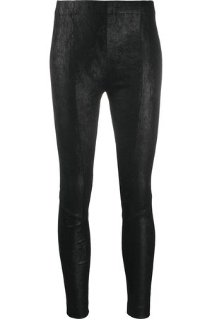 GENTRYPORTOFINO Skinny-fit leather trousers