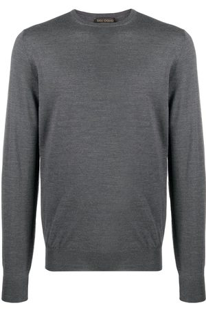 DELL'OGLIO Long sleeve ribbed knit jumper