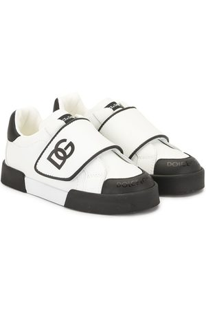 Dolce & Gabbana Touch strap logo sneakers