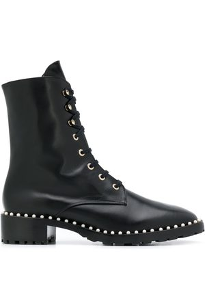 Stuart Weitzman Women Ankle Boots - Allie studded ankle boots