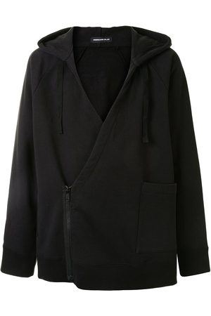 UNDERCOVER V-neck cotton hoodie